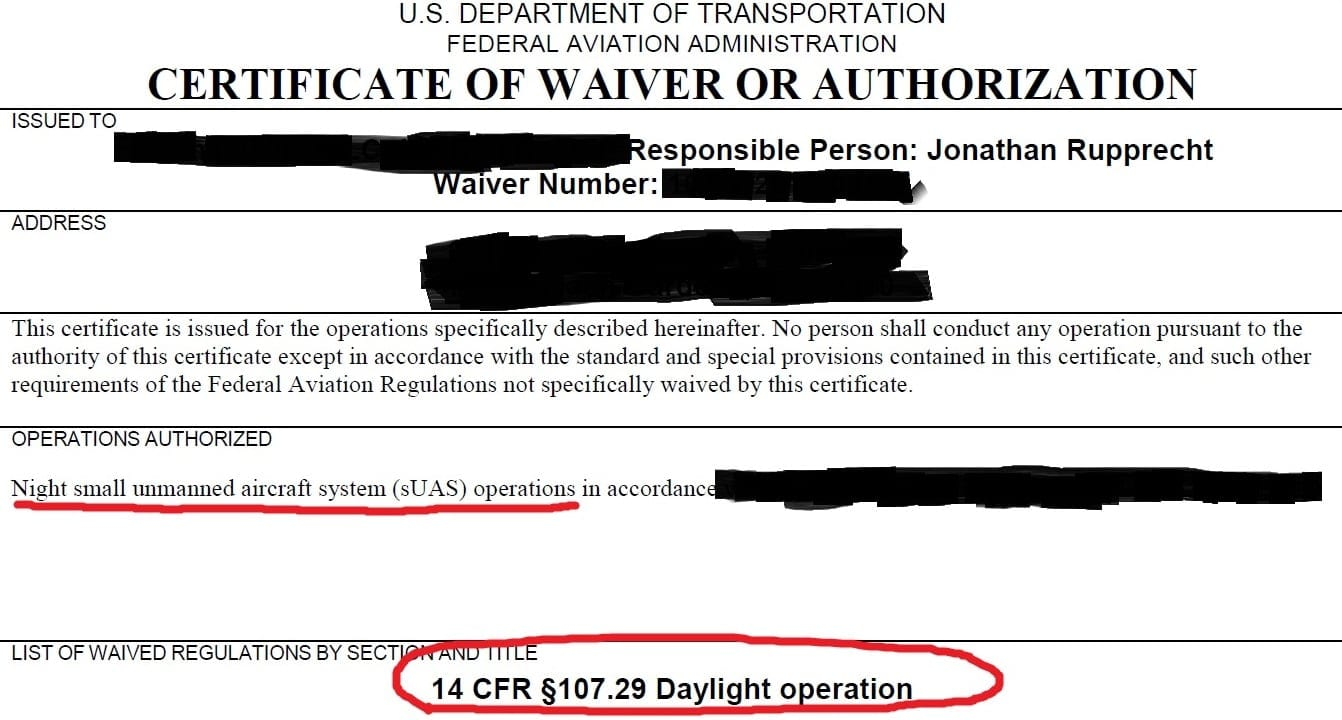 Part-107-night-waiver
